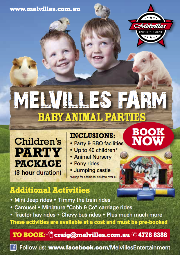 Everyone loves our Baby Animal Birthday parties!