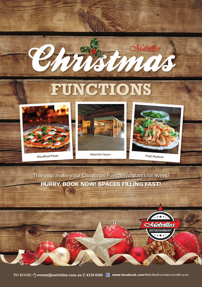 Book Your Christmas Function Now
