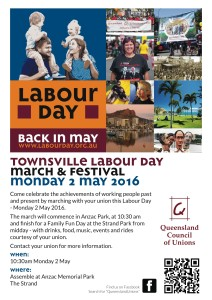 Labour Day 2016 – Townsville